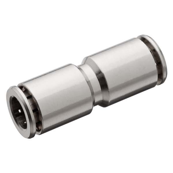 União tubo nylon metal engate rápido 8mm