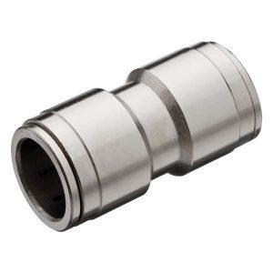 União Tubo nylon metal engate rápido 1/2 polegada